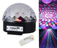 ZS39 KULA DYSKOTEKOWA LED MAGIC DISCO LASER USB